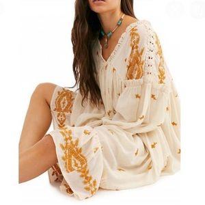 Free People | Lavender Fields Trapeze Midi Dress